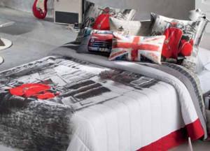 narzuta na łóżko z autem