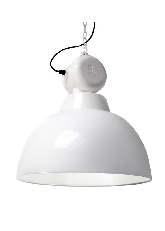 lampa Factory biała